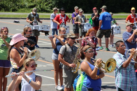 Tamaqua Raider Band Camp, Middle School Parking Lot, Tamaqua, 8-13-2015 (193)
