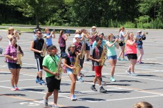Tamaqua Raider Band Camp, Middle School Parking Lot, Tamaqua, 8-13-2015 (202)