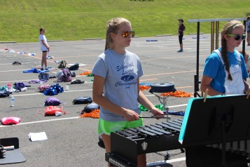 Tamaqua Raider Band Camp, Middle School Parking Lot, Tamaqua, 8-13-2015 (205)