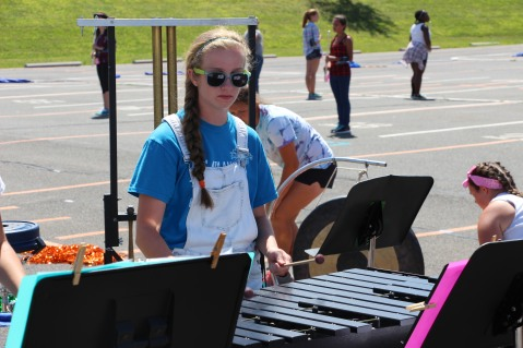 Tamaqua Raider Band Camp, Middle School Parking Lot, Tamaqua, 8-13-2015 (206)