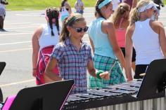 Tamaqua Raider Band Camp, Middle School Parking Lot, Tamaqua, 8-13-2015 (207)