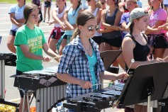 Tamaqua Raider Band Camp, Middle School Parking Lot, Tamaqua, 8-13-2015 (210)