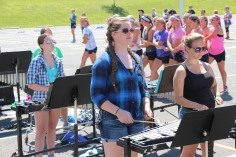 Tamaqua Raider Band Camp, Middle School Parking Lot, Tamaqua, 8-13-2015 (212)