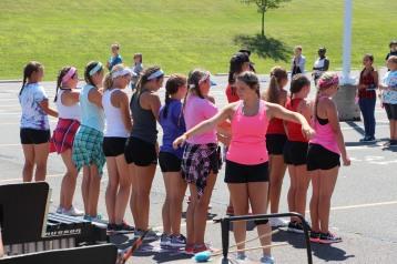 Tamaqua Raider Band Camp, Middle School Parking Lot, Tamaqua, 8-13-2015 (216)