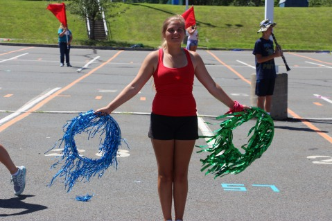 Tamaqua Raider Band Camp, Middle School Parking Lot, Tamaqua, 8-13-2015 (218)