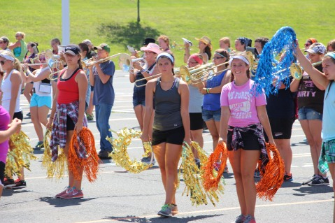 Tamaqua Raider Band Camp, Middle School Parking Lot, Tamaqua, 8-13-2015 (260)
