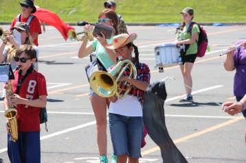 Tamaqua Raider Band Camp, Middle School Parking Lot, Tamaqua, 8-13-2015 (269)