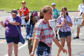 Tamaqua Raider Band Camp, Middle School Parking Lot, Tamaqua, 8-13-2015 (270)