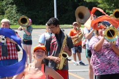 Tamaqua Raider Band Camp, Middle School Parking Lot, Tamaqua, 8-13-2015 (275)