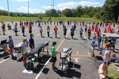 Tamaqua Raider Band Camp, Middle School Parking Lot, Tamaqua, 8-13-2015 (289)