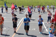 Tamaqua Raider Band Camp, Middle School Parking Lot, Tamaqua, 8-13-2015 (290)