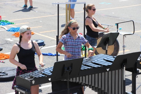Tamaqua Raider Band Camp, Middle School Parking Lot, Tamaqua, 8-13-2015 (291)