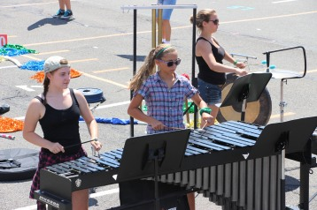 Tamaqua Raider Band Camp, Middle School Parking Lot, Tamaqua, 8-13-2015 (292)