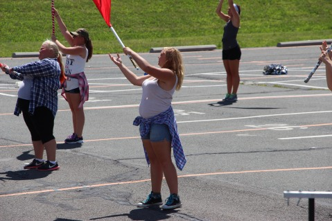 Tamaqua Raider Band Camp, Middle School Parking Lot, Tamaqua, 8-13-2015 (294)