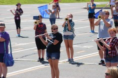 Tamaqua Raider Band Camp, Middle School Parking Lot, Tamaqua, 8-13-2015 (301)