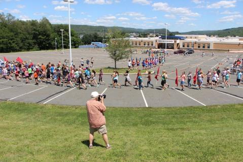 Tamaqua Raider Band Camp, Middle School Parking Lot, Tamaqua, 8-13-2015 (30)