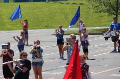 Tamaqua Raider Band Camp, Middle School Parking Lot, Tamaqua, 8-13-2015 (305)