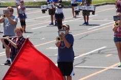 Tamaqua Raider Band Camp, Middle School Parking Lot, Tamaqua, 8-13-2015 (306)