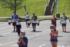 Tamaqua Raider Band Camp, Middle School Parking Lot, Tamaqua, 8-13-2015 (308)