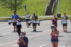 Tamaqua Raider Band Camp, Middle School Parking Lot, Tamaqua, 8-13-2015 (308)