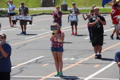 Tamaqua Raider Band Camp, Middle School Parking Lot, Tamaqua, 8-13-2015 (309)