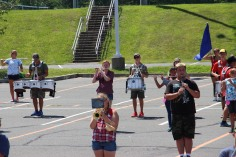 Tamaqua Raider Band Camp, Middle School Parking Lot, Tamaqua, 8-13-2015 (310)