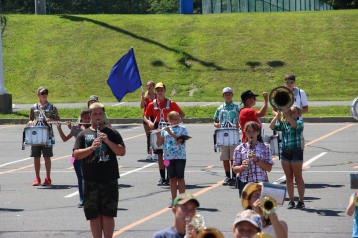 Tamaqua Raider Band Camp, Middle School Parking Lot, Tamaqua, 8-13-2015 (313)