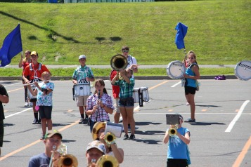 Tamaqua Raider Band Camp, Middle School Parking Lot, Tamaqua, 8-13-2015 (314)