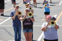 Tamaqua Raider Band Camp, Middle School Parking Lot, Tamaqua, 8-13-2015 (317)