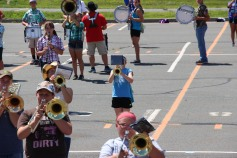 Tamaqua Raider Band Camp, Middle School Parking Lot, Tamaqua, 8-13-2015 (319)