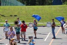 Tamaqua Raider Band Camp, Middle School Parking Lot, Tamaqua, 8-13-2015 (320)