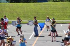 Tamaqua Raider Band Camp, Middle School Parking Lot, Tamaqua, 8-13-2015 (321)