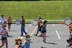 Tamaqua Raider Band Camp, Middle School Parking Lot, Tamaqua, 8-13-2015 (322)