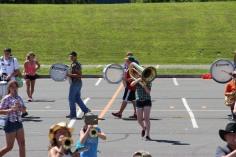 Tamaqua Raider Band Camp, Middle School Parking Lot, Tamaqua, 8-13-2015 (322)
