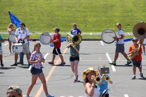 Tamaqua Raider Band Camp, Middle School Parking Lot, Tamaqua, 8-13-2015 (323)