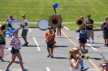 Tamaqua Raider Band Camp, Middle School Parking Lot, Tamaqua, 8-13-2015 (324)