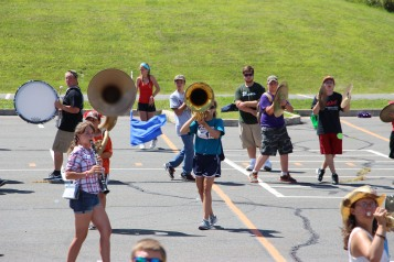 Tamaqua Raider Band Camp, Middle School Parking Lot, Tamaqua, 8-13-2015 (325)