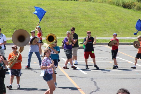 Tamaqua Raider Band Camp, Middle School Parking Lot, Tamaqua, 8-13-2015 (326)
