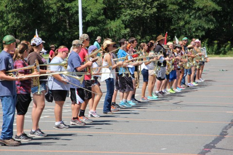 Tamaqua Raider Band Camp, Middle School Parking Lot, Tamaqua, 8-13-2015 (33)