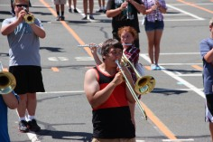 Tamaqua Raider Band Camp, Middle School Parking Lot, Tamaqua, 8-13-2015 (333)