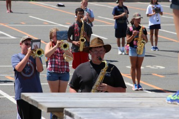 Tamaqua Raider Band Camp, Middle School Parking Lot, Tamaqua, 8-13-2015 (336)