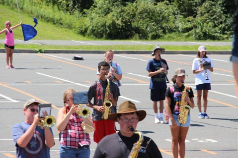 Tamaqua Raider Band Camp, Middle School Parking Lot, Tamaqua, 8-13-2015 (337)
