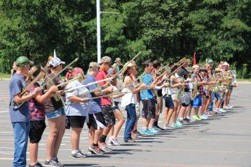 Tamaqua Raider Band Camp, Middle School Parking Lot, Tamaqua, 8-13-2015 (34)