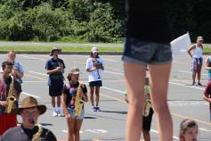 Tamaqua Raider Band Camp, Middle School Parking Lot, Tamaqua, 8-13-2015 (340)
