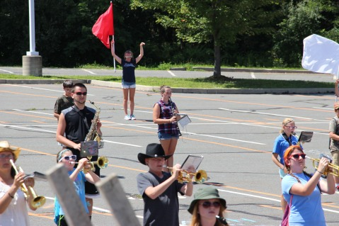 Tamaqua Raider Band Camp, Middle School Parking Lot, Tamaqua, 8-13-2015 (345)