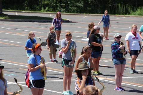 Tamaqua Raider Band Camp, Middle School Parking Lot, Tamaqua, 8-13-2015 (348)