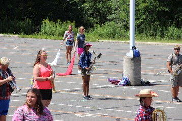 Tamaqua Raider Band Camp, Middle School Parking Lot, Tamaqua, 8-13-2015 (357)
