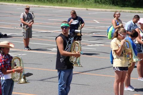 Tamaqua Raider Band Camp, Middle School Parking Lot, Tamaqua, 8-13-2015 (359)