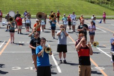 Tamaqua Raider Band Camp, Middle School Parking Lot, Tamaqua, 8-13-2015 (366)