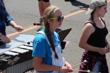 Tamaqua Raider Band Camp, Middle School Parking Lot, Tamaqua, 8-13-2015 (370)